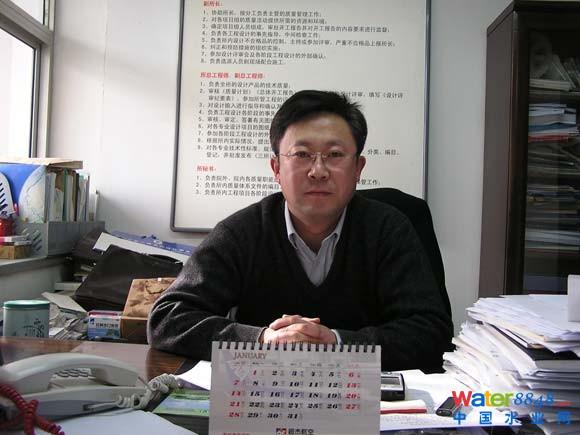 王琦--中国市政工程华北设计研究总院 三院 院长