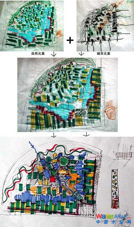 天津桥园公园雨水利用及景观设计 设计单位:北京土人景观规划设计研究