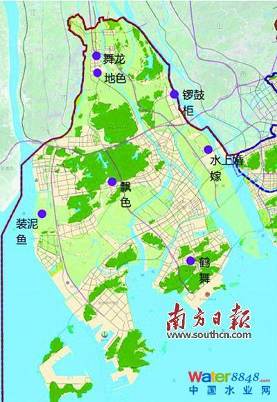 9km2海绵城市示范区率先启动(组图) 《珠海市西部中心城区海绵城市图片