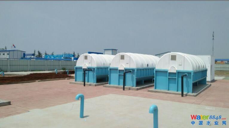 青岛新机场污水处理工程