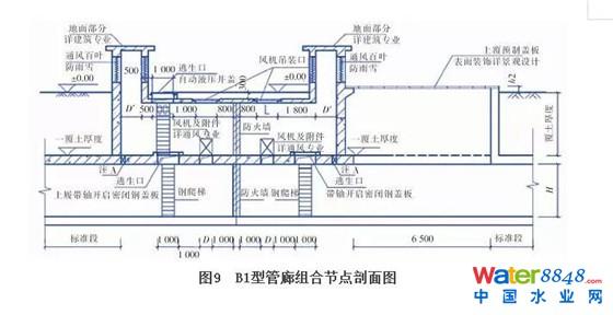 图集组合节点的设计,将通风口,吊装口,逃生口合并设置,组合节点需实现