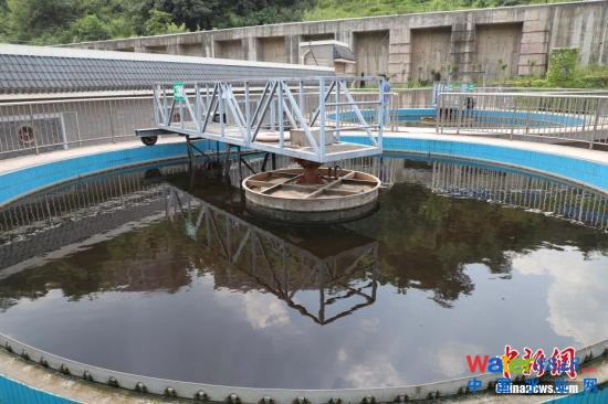 资料图:污水处理厂。瞿宏伦 摄