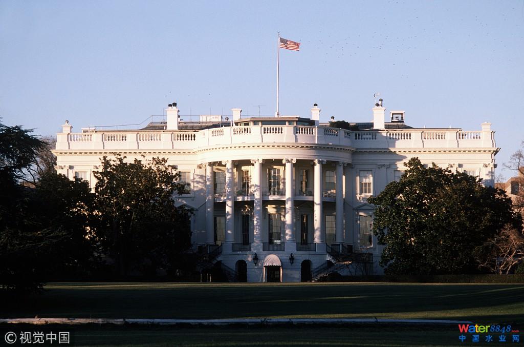 美国政府拖交水费 水务局董事玩笑称要给白宫断水